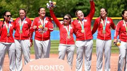 Canadian Women Win Softball