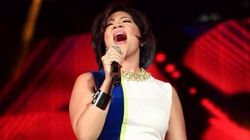 Tessanne Chin's Panamania Jumpsuit Is Colour-Blocked