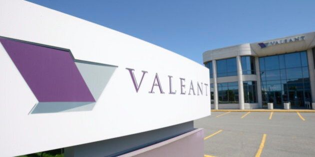 Valeant Is Canada's New Largest Company, Because Health Care Stocks Are Going
