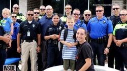 Kids Of Fallen Police Officer Get Best Back-To-School