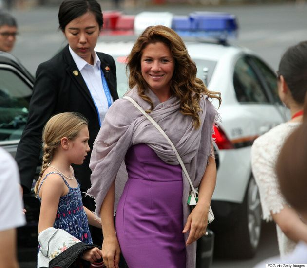 Sophie Grégoire Trudeau Went Shopping At Dolce & Gabbana In