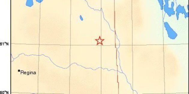 Saskatchewan Earthquake Registers 3.8