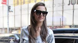 Katie Holmes Proves You Can Wear Leather In The