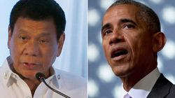 Philippine President Regrets Calling Obama