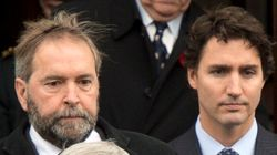 NDP Open To Coalition, But Liberals Say