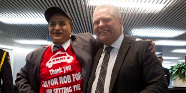 Doug Ford's 'Funeral Selfies' With Mourners Draws