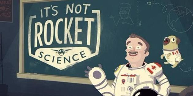 Chris Hadfield Launches YouTube Science Series: 'It's Not Rocket