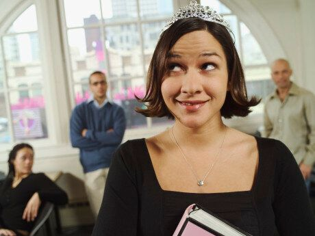 You Might Be A Princess At Work