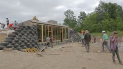 WATCH: 1st Earthship Built On First Nations