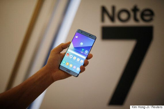 Samsung Recalls All Galaxy Note 7 Phones Over Exploding