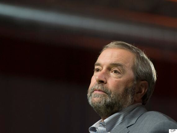 Tom Mulcair Gets Support From 5 Union Leaders Ahead Of Leadership