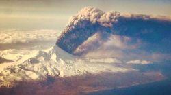 Alaskan Volcano Eruption Creates Giant Ash