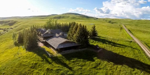Most Expensive Property Ever Listed In Alberta Is A Rancher's