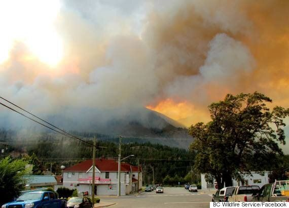 Lytton Fire Prompts Evacuation Of More Than A Dozen