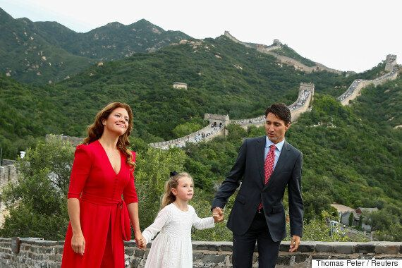 Justin Trudeau China: Ella-Grace Knows How To Cap Off Her