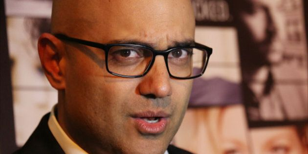 NEW YORK, NY - OCTOBER 23:  Playwright Ayad Akhtar  attends the Broadway Opening Night After Party for 'Disgraced' at the Edison Ballroom on October 23, 2014 in New York City.  (Photo by Walter McBride/Getty Images)