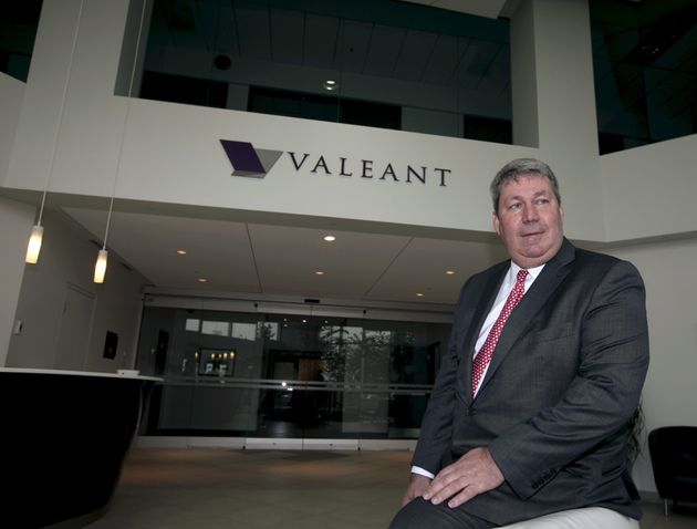Valeant Stock Price Plunges After CEO Subpoenaed By