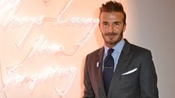 David Beckham Sewing Doll Clothes Is All Sorts Of