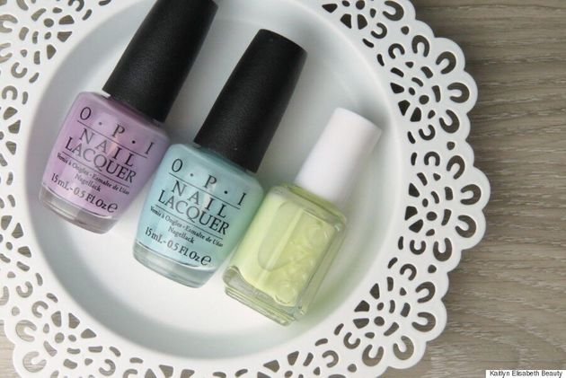 Spring Nail Art: An Easy And Eye-Catching Marble