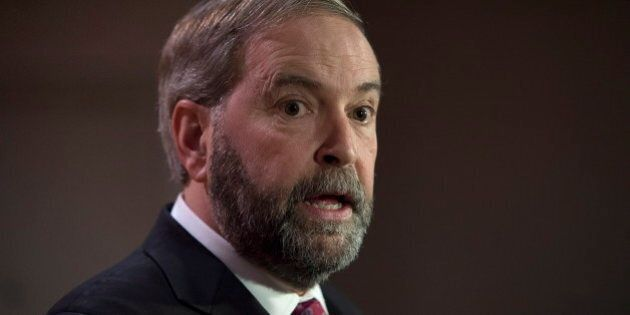 Mulcair Is Putting Canada At Risk By Pandering to