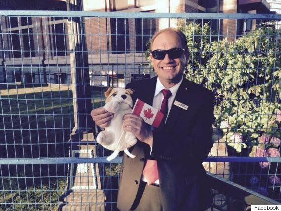 Boris The Stuffed Dog Was Left Behind At B.C. Hotel, So Staff Gave Him A Little