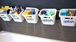 Bath Life Hacks To Make Parents' Lives