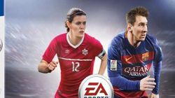 Christine Sinclair Stars On Historic Video Game