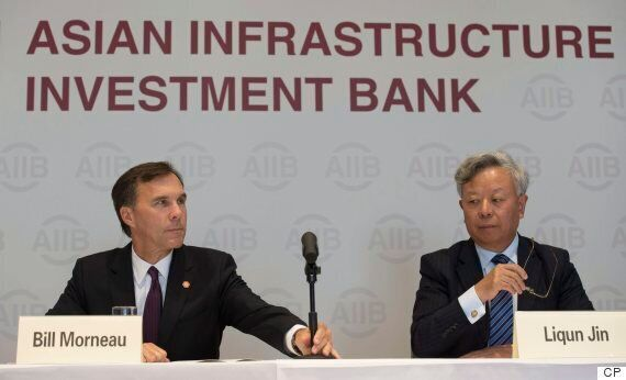 Canada Intends To Join Controversial Asian Infrastructure Investment