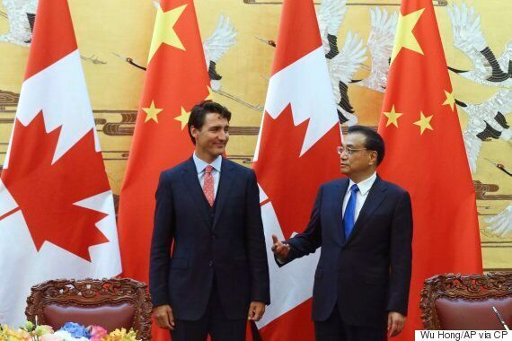 Trudeau Agrees To Deepen Canada-China Relations, Explore Free Trade