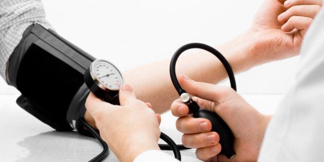 blood pressure measuring studio