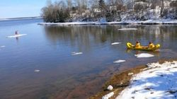 9-Year-Old Twins Rescued From Drifting Ice