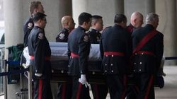 Scores Pay Final Respects As Rob Ford Lies In Repose At City