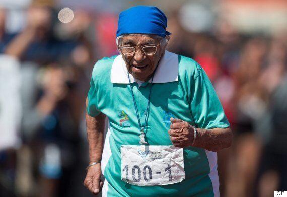 Man Kaur, 100-Year-Old Sprinter, Is Happy When She Wins: