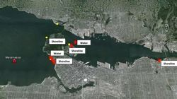 This Is How Far Oil From Vancouver's English Bay Spill