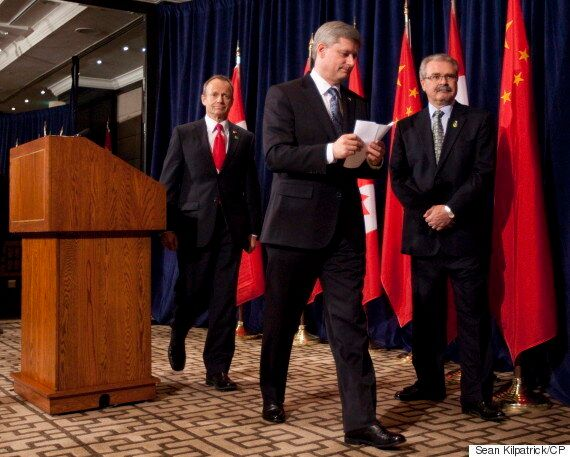 Gerry Ritz: Tories Discussed Free Trade With China, But Focused On TPP, CETA