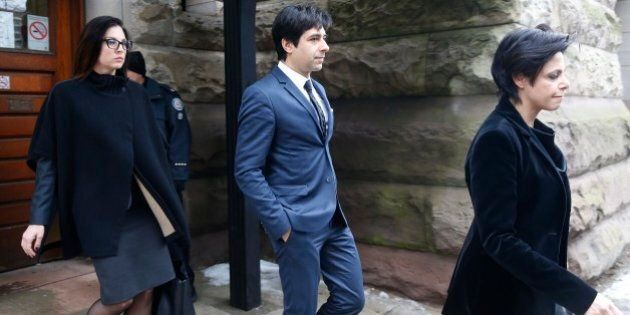 TORONTO, ON - MAR 24. Ghomeshi verdict. Cleared of all charges. Marie Henein,(r) defence attorney for former CBC host Jian Ghomeshi was successful in this high profile case.        (Rene Johnston/Toronto Star via Getty Images)