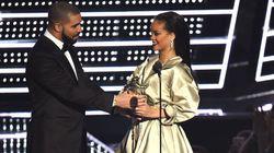 Drake: Rihanna, Here's Your MTV VMA Vanguard Award. And, I Love