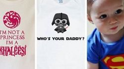 28 Adorable Geeky Onesies For Your Little