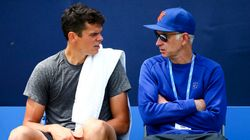 John McEnroe Splits With Milos Raonic For The U.S.