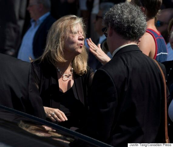 Mauril Belanger's Funeral Ends With His Gender-Neutral