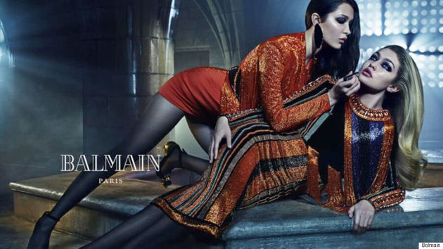 Kendall And Kylie Jenner Star In Balmain Fall 2015