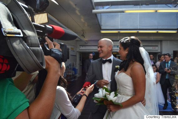 Vancouver SkyTrain Wedding Proves Anything Can Happen On Public