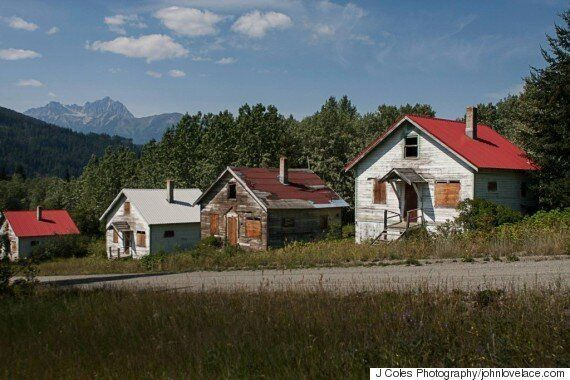 Bradian, B.C. Ghost Town For Sale Once