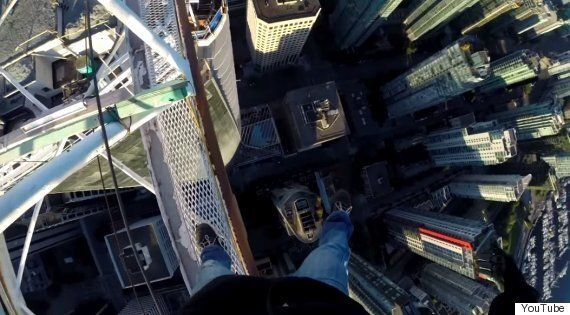 Vancouver Trump Tower Video Of Illegal Climb Is