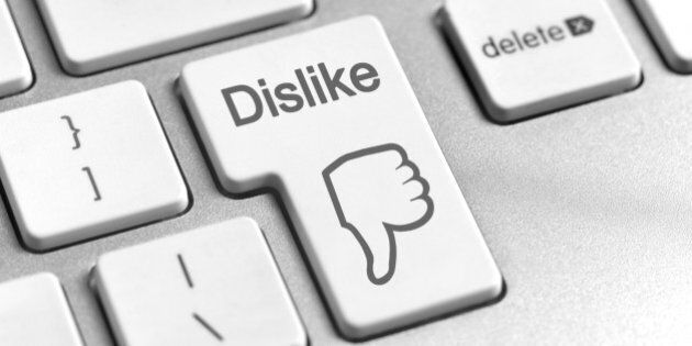 Dislike computer key