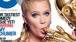The Force Is With Amy Schumer On The Cover Of