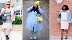 Curvy Babes Show Us How To Rock Pastels For