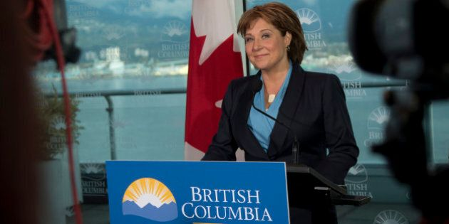 Will B.C. Premier Christy Clark Avoid 'Climate Laggard'