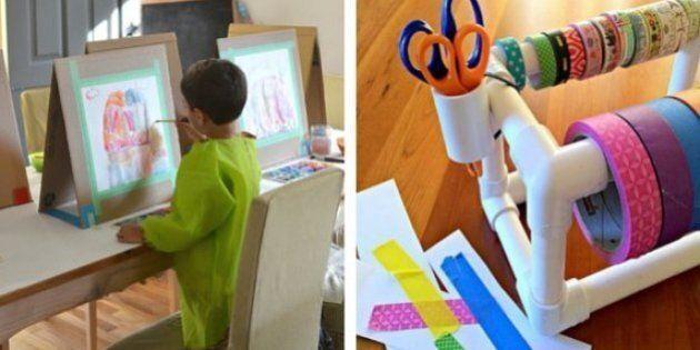Craft Storage: Hacks To Make Kids' Craft Time Less