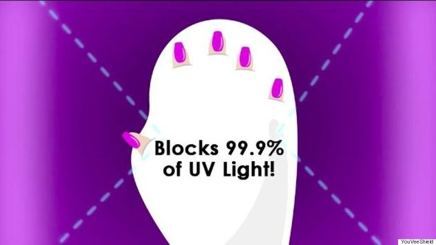 UV Light-Protection Glove Will Make Your Gel Manicure Much Less